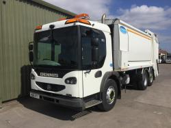 Dennis Elite 2 6x2  Rear Steer RCV Truck